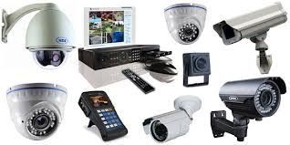 INS Surveillance Types of Cameras